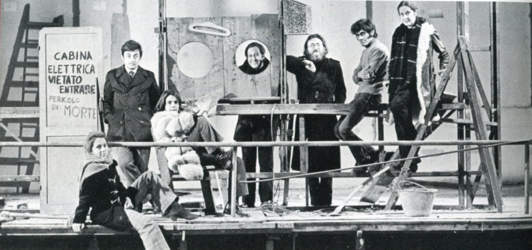 Andrée Ruth Shammah, Franco Parenti, Luisa Rossi