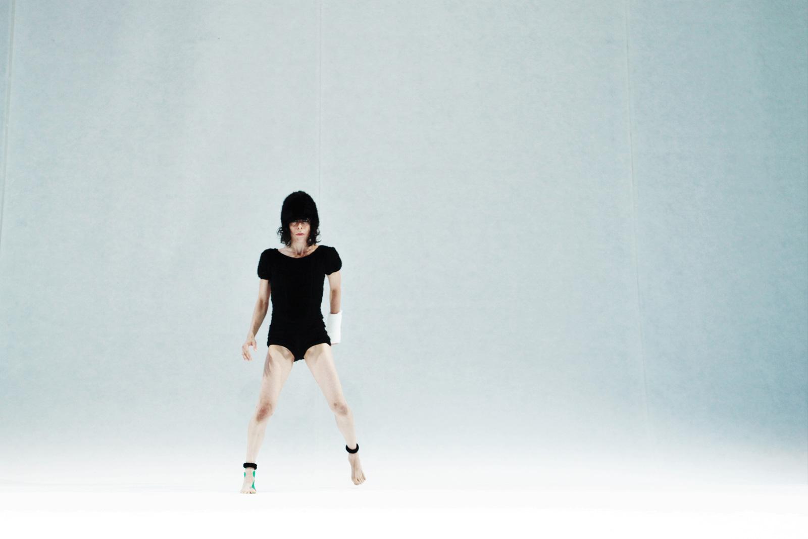 Ballerina in scena