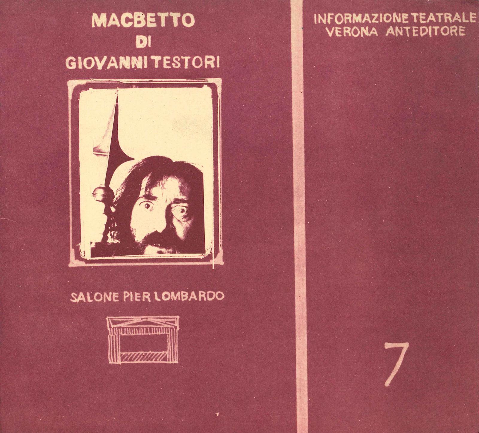 Il libretto di Macbetto di Giovanni Testori
