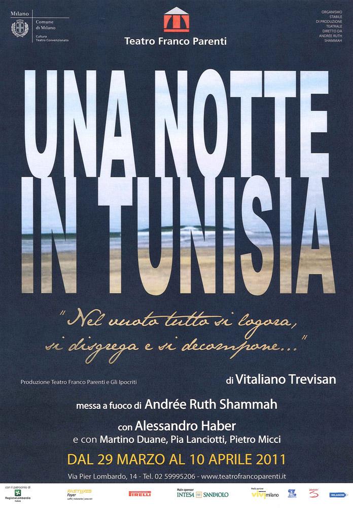 La locandina di Una notte in Tunisia